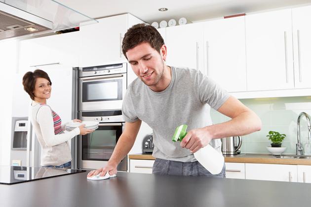4 Cara Cerdas Bersihkan Dapur Dengan Bahan Alami