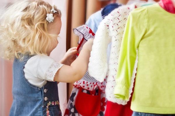 Cara Memilih Pakaian Untuk Sang Anak