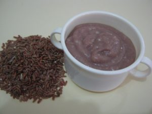 Bubur beras merah