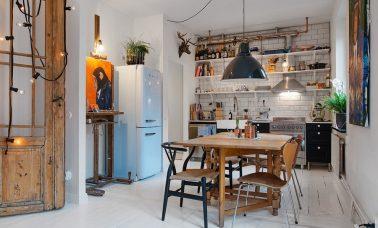 Membuat dapur sempit menjadi lebih nyaman